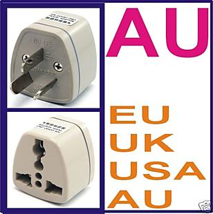 2 pcs X AC Power Socket Adaptor