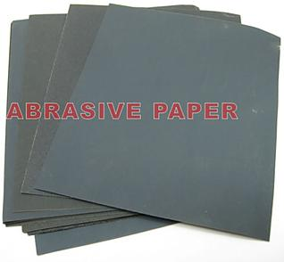 20 sheets 320Cw Abrasive Paper Waterproof Silcon Carbide Electro Coated 9x11""